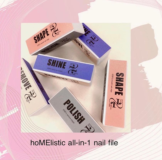 hoMElistic 4-side nail file 全能甲銼