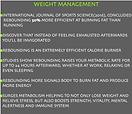 rebounding health benefits fo weight loss