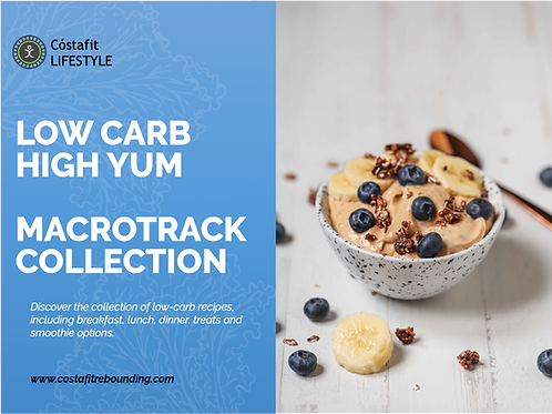 Cóstafit Lifestyle Low Carb High Yum MacroTrack Collection