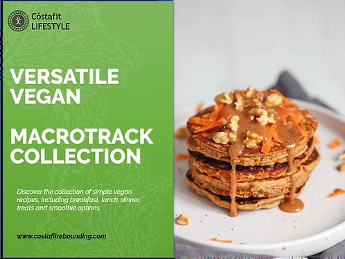 Cóstafit Lifestyle Versatile Vegan MacroTrack Collection