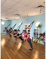 TRX bodyweight suspension class