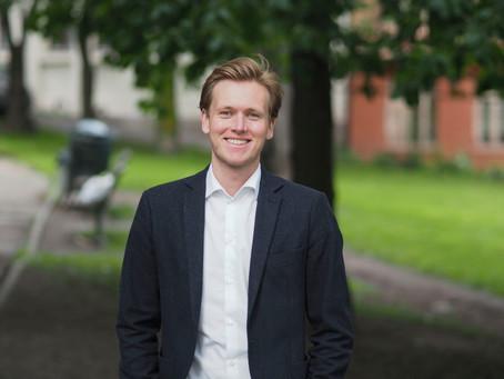 Sondre Hansmark valgt til ungdomskandidat i Oslo Unge Venstre!