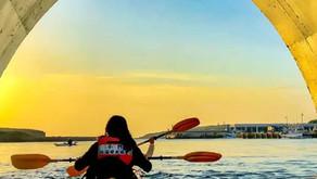 2021澎湖小門嶼獨木舟夕陽環島體驗 | 澎湖民宿 | 撒野旅店