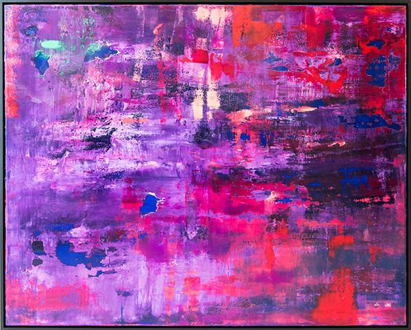 Downtown Rain | Oil on Canvas