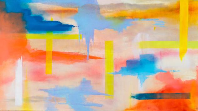 NORTHERN LIGHTS | oil on canvas