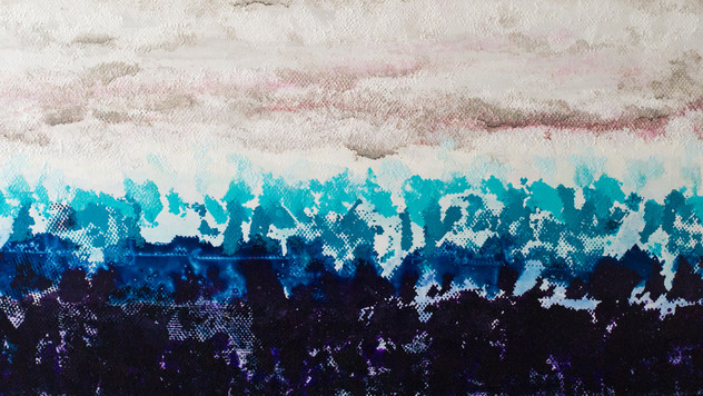 Ocean | Abstract Painting | Acrylic on Canvas