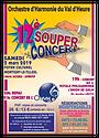 Affiche du 12e souper concert OHVH 02mar