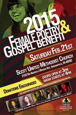 Female Poetry & Gospel Benefit