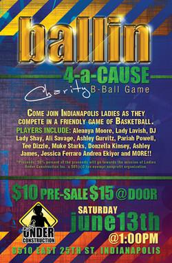 Ballin 4-a-Cause Charity
