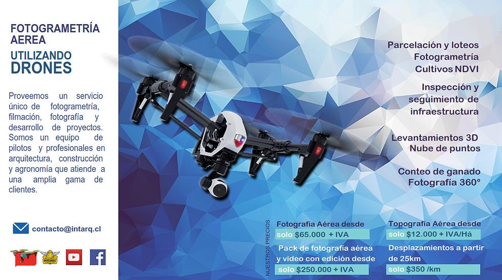 servicio drones osorno