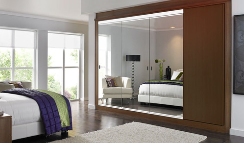 Not Just Another Pretty Face, Our Sliding Mirror Closet Doors Are ¾u201d  PlyCorr (a Densely Corrugated Cardboard That Performs Like Wood Without The  Added ...