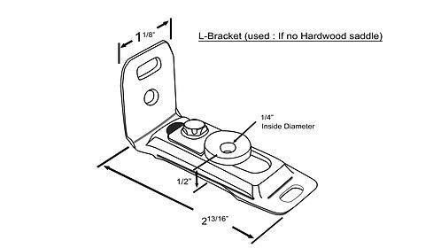 Hardware - Jamb Bracket