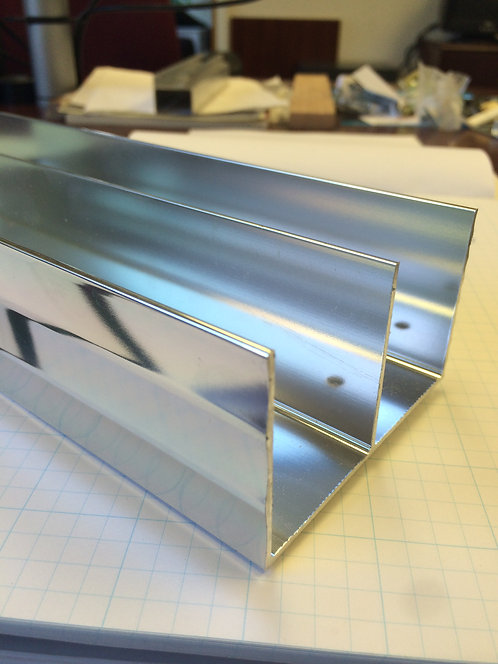 Hardware - Slider Top Track - Chrome
