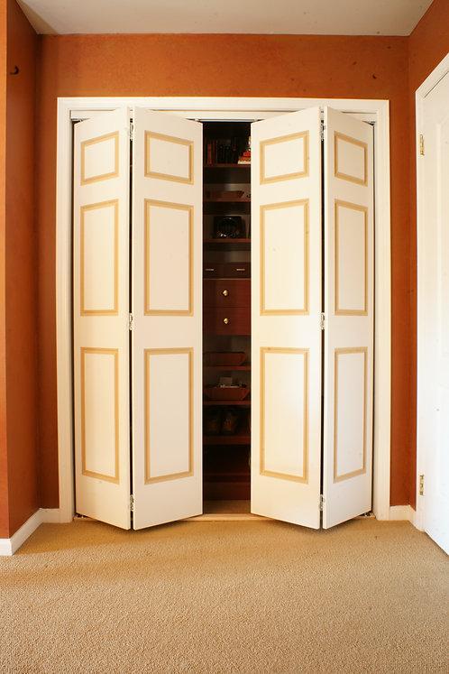 Routed 4 & 6 Panel Bifold Doors