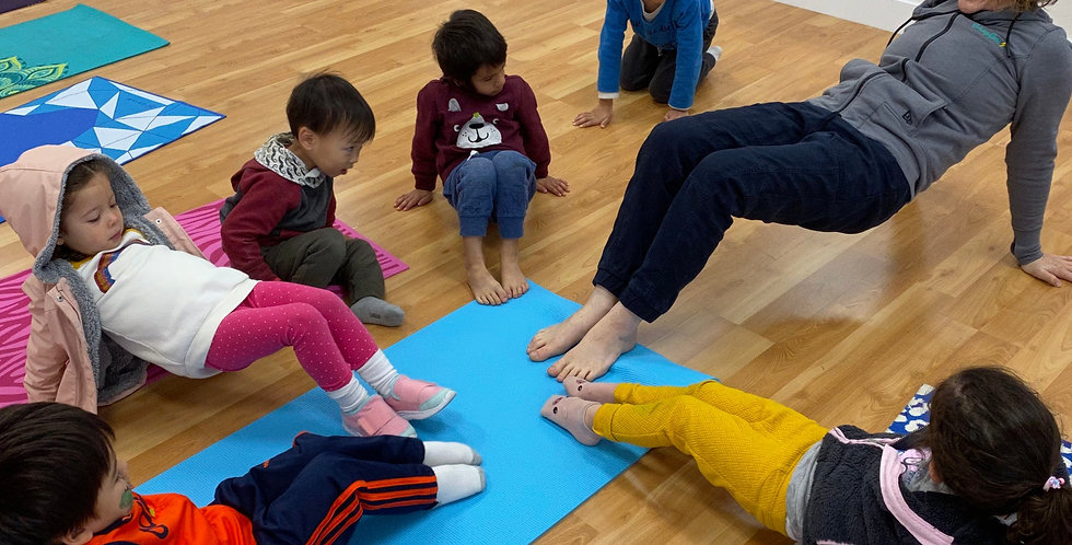 Yoga Play (Kids) - Drop In