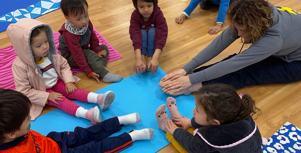 Yoga Play 45 (Kids) - Drop In