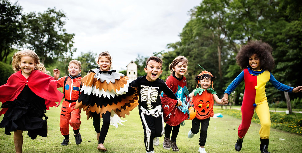 SpringSpot Halloween Party (Family) - Online