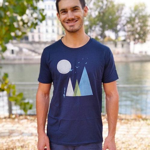 "T-shirt Bio ""Hills"""