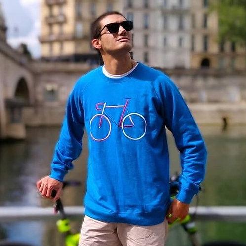 """Sweatshirt en Coton Bio """"Ride"""""""