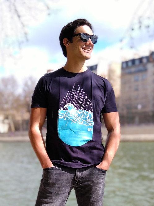 """T-shirt Bio """"Stormy Raindrop"""""""