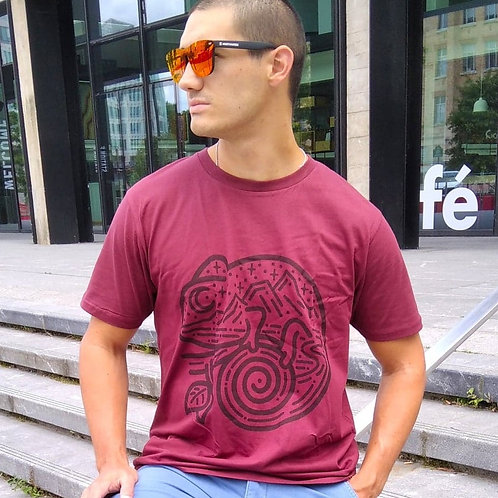 """T-shirt Bio """"Chameleon"""""""