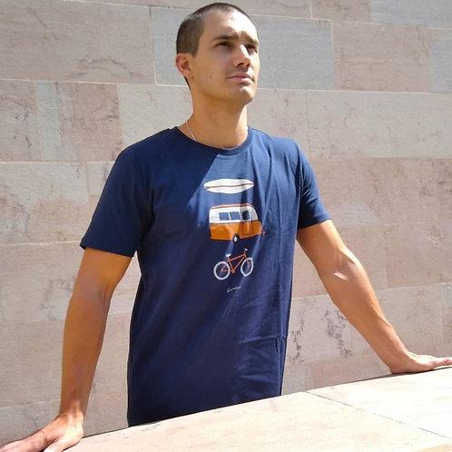 """T-shirt Bio """"Caravan Fun"""""""