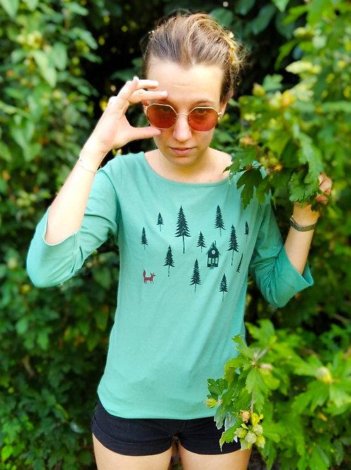 "T-shirt Bio ""Forest Fox"""