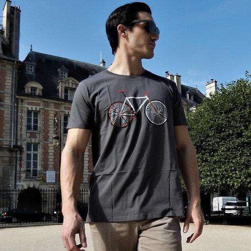 "T-shirt Bio ""Bike Easy"""