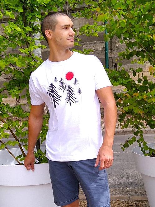 "T-shirt Bio ""Winter Forest"""