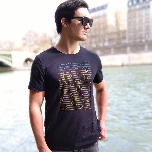 """T-shirt Bio """"Nature View"""""""