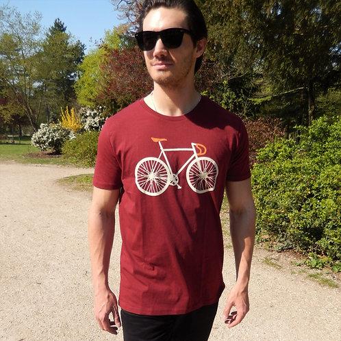 "T-shirt Bio ""Bike Two"""