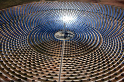 Crescent Dunes Solar Power Plant.