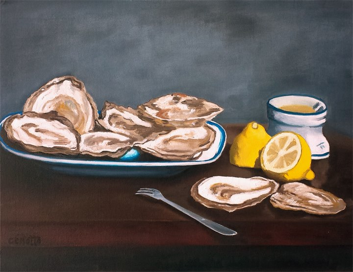 After Manet's Oysters