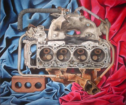 Engine Block Still Life