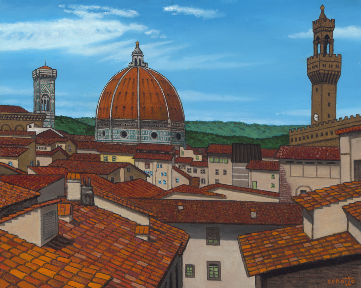 rooftops of florence