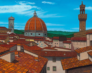 Lawrence Cenotto - Rooftops of Florence