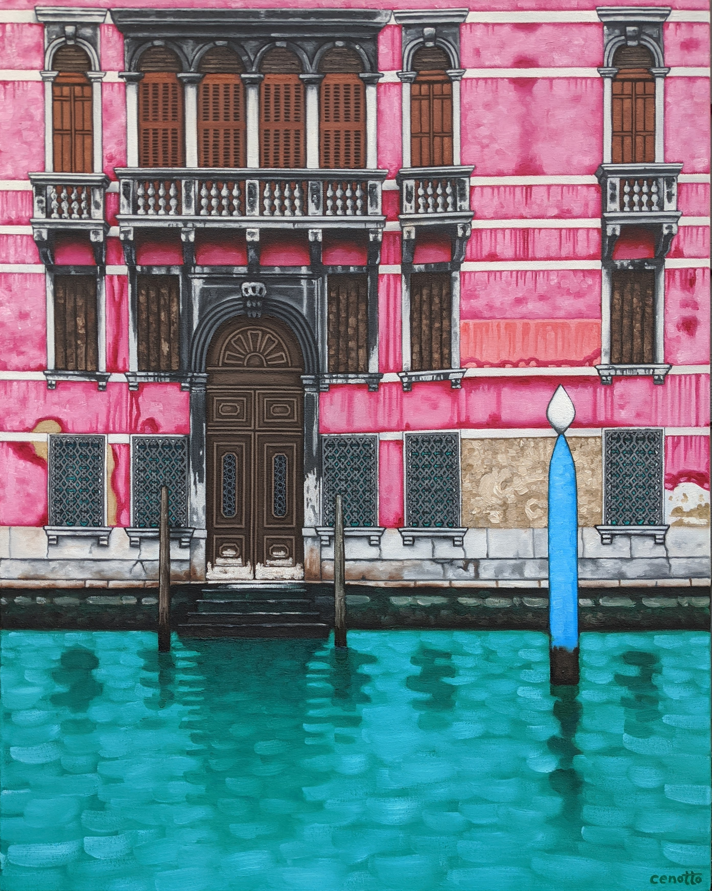 pink palazzo