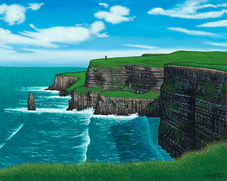 Lawrence Cenotto - Cliffs of Moher 16x20