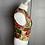 Thumbnail: Vintage MULBERRY floral waistcoat UK10