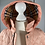 Thumbnail: Girls BURBERRY Hooded Diamond Quilted Jacket Dusty Pink  (18mths)