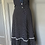 Thumbnail: Vintage Navy and white cotton polka dot sundress Uk10