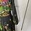 Thumbnail: 70s maxi dress. Black/florals. 6/8