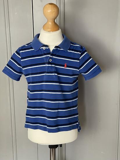 Boys Polo Ralph Lauren blue tshirt age 2