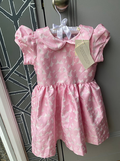 Rachel Riley pink heart party dress (3 years)