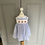 Thumbnail: Confiture/Trotters girls blue and white cherry dress age 2