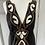 Thumbnail: Tibi New York black/embroidery dress Uk8