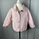 Thumbnail: Girls light pink BURBERRY quilted jacket. 3YRS