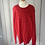 Thumbnail: Red cable knit Ralph Lauren jumper 10-12yrs