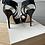 Thumbnail: Jimmy Choo blue coarse glitter platforms size 35.5 rrp£595