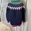 Thumbnail: Vintage thick wool cardigan UK 12-14